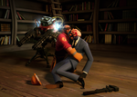 Engie and Spy by MrRiar