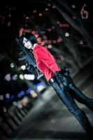 Ada Wong Cosplay Resident Evil 6 !! by CosmicNya