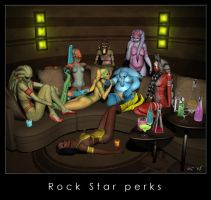 Rock Star perks by Kaernen