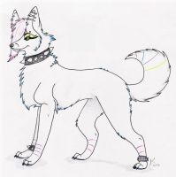 I Be Zeh Neon Wolf by anime-fan-addict