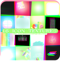 16 icon textures by kaleidoscopeEYE