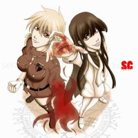 Deadly Hellsing Girls by adel1na