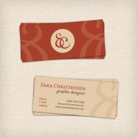 Personal Business Card by SaraChristensen
