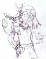 May and Glaceon by pdutogepi