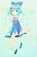 Cirno by nyantsu