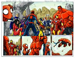Avenging Spidey Preview 2 by hansolo106
