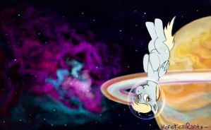 In Space, Nopony Can Hear You Derp by HereticalRants