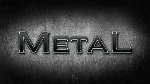 Metal Text by wallaberto