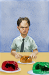 Dwight of the Office by Richtoon