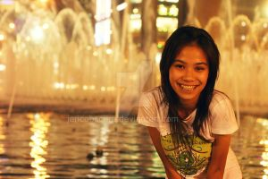 fountain smile by jerichobscura