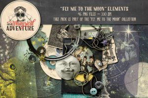 Fly Me To The Moon Elements by Whimsical-Adventure