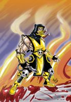 Mortal Kombat - Scorpion by Magmard