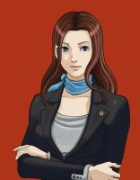 Susan Parker Ace Attorney by Valaquia