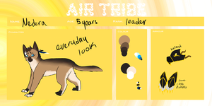 | EOG  App | Nedera - Air Tribe Leader by TokalaSoul
