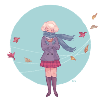 I love fall by Merlemage