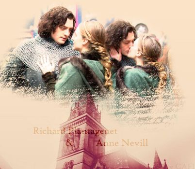 Anne Neville and Richard Plantagenet by BellatrixStar88