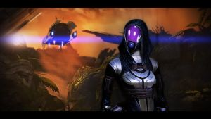 Mass Effect 2 Tali 2 by AgataFoxxx