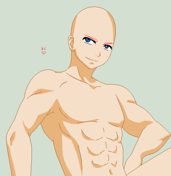 Sexy Male Base 3 by JustGoWith123