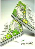 Bobsmade_shoes-camera Chucks by Bobsmade