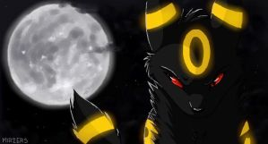 Umbreon LOL by mirzers