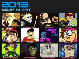 2013 Year In Review by Bleu-Ninja