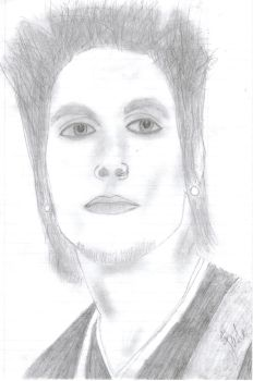 Synyster Gates I by bleedingice