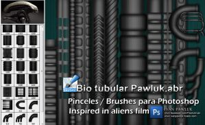 Bio tubular Pawluk Aliens film by ipawluk