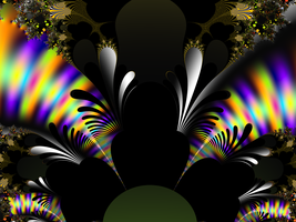Psychedelic Feathers by FlyingMatthew