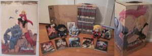 My Full Metal Alchemist Brotherhood collection by Pink--Reptile