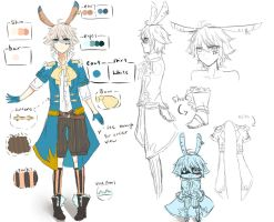 OC ref: Shion by Nekoichu