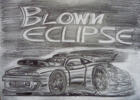 Blown Eclipse toon sketch by theTobs