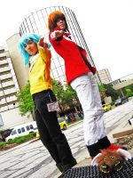 Acen 2010: Syrus and Jaden by Malindachan