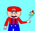 Mario in 5 minutes with paint by Kickern