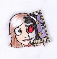 AT - The card for 'Sister' by Darlasaki2