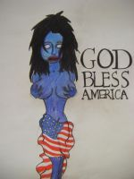 God Bless America? by arm-the-fallen