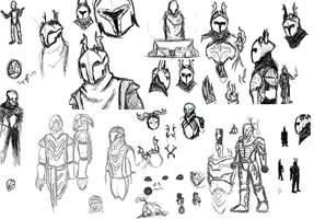 Guardian-Sketches by Ramrum