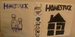 Homestuck Binder- COMPLETE by T0X1C-L13S