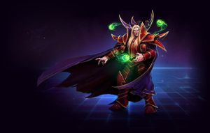 Kael'thas (Warcraft) by Airachnid1301
