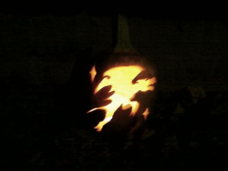 Gargoyle Pumpkin by Angel62599
