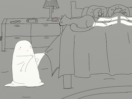 ghost baby is super kawaii by pieladyUSA