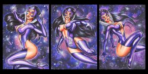 STAR SAPPHIRE PERSONAL SKETCH CARDS by AHochrein2010