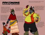 Commission: Pryconians 2 by Luprand
