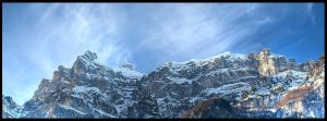 Mountain Panorama by luethy