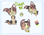 Border Collie Pup Adopt [CLOSED] by Pastel-Shiba