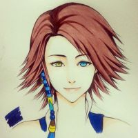 Yuna Final Fantasy X-2 version by thumbelin0811