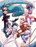 DarkStalkers .:Girls in Pop:. by Mako-Fufu