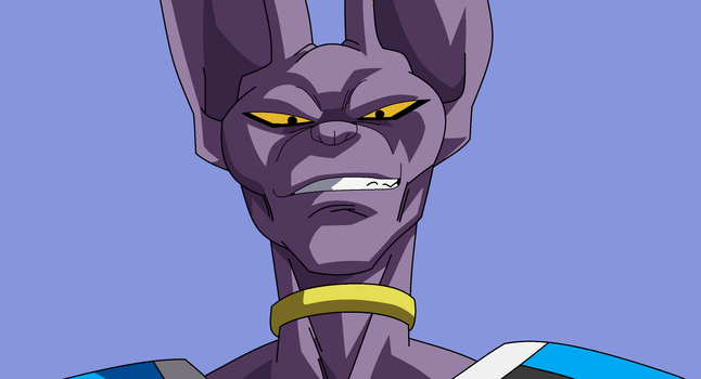 Beerus The God Of Destruction by AnimeShimmer