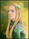 Rumil of Lorien by MellorianJ