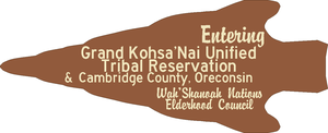 Grand Kohsa'Nai Tribal Reservation Sign by mcspyder1