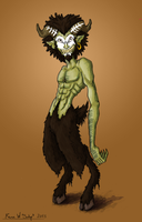 Hey Look a Colored Satyr by Twisted-XP